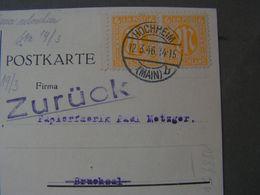 Hochheim MAinz MeF Karte 1946 - Gemeinschaftsausgaben