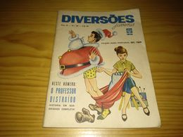 "Revista Brasileira ""Diversões Juvenis Nº 28, Dezembro De 1962 - Libri, Riviste, Fumetti"