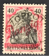 Danzig Michel Nr.  38b Gestempelt Geprüft - Danzig