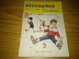 "Revista Brasileira ""Diversões Juvenis Nº 11, Julho De 1961 - Libri, Riviste, Fumetti"