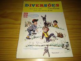 "Revista Brasileira ""Diversões Juvenis Nº 13, Setembro De 1961 - Libri, Riviste, Fumetti"