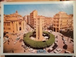 Lebanon  Liban Old Paper Callander Periode 60  Large 30x21   BEIRUT EL NIJME SQUARE - Calendari