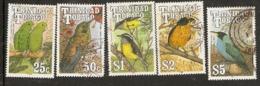 Trinidad And Tobago  1990  Birds Various Values To $5  Fine Used - Trinidad Y Tobago (1962-...)