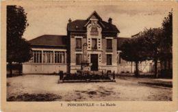 CPA PORCHEVILLE - La Mairie (102407) - Porcheville