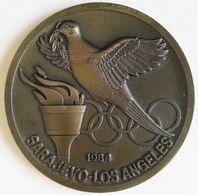 Médaille Jeux Olympiques De 1984, Sarajevo -Los Angeles. - Other