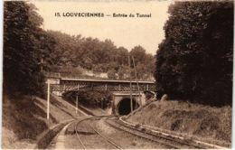 CPA LOUVECIENNES - Entrée Du Tunnel (102661) - Louveciennes