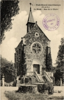 CPA PORT-ROYAL-des-CHAMPS - La Musée - Base De La Chaire (102850) - Magny-les-Hameaux