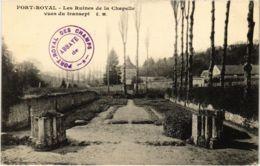 CPA PORT-ROYAL - Les Ruines De La Chapelle Vues Du Transept (102852) - Magny-les-Hameaux