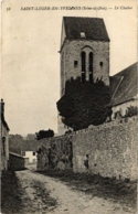 CPA St-LEGER-en-YVELINES - Le Clocher (102942) - St. Leger En Yvelines