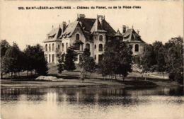 CPA St-LEGER-en-YVELINES - Chateau Du Planet Vu De La Plece D'eau (102944) - St. Leger En Yvelines