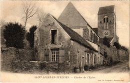 CPA St-LEGER-en-YVELINES - Clocher De L'Église (102946) - St. Leger En Yvelines