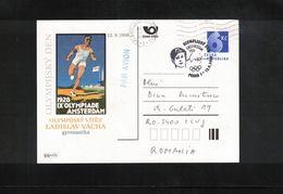 Czech Republic 1998 Olympic Games Amsterdam Ladislav Vacha Gymnastics Interesting Postcard - Summer 1928: Amsterdam
