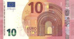 10 Euro - M. Draghi Serie WA - Germany Plate W002 Perfect UNC - EURO