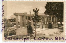 - 3 - POMEROLS - ( Hérault ), Le Square De La Gare, Réalisé Par La Municipalité, Peu Courante, 1949,TTBE, Scans. - Sonstige Gemeinden