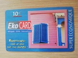 ST MARTIN ECO CARD  €10,- HOUSE TAFEREEL WINDOWS    ** 2749 ** - Antilles (Françaises)