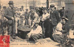 CPA MARSEILLE - Marchands De Coquillages - Petits Métiers