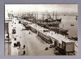 TRAPANI  :  Porto  (Banchina) - Da  Archivio Caruso -  Cartolina Non Viaggiata - Trapani