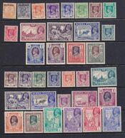 Birmania  1937-1946 Collezione Di 68 Francobolli Nuovi MNH/_MLH **/*Vedi Scansione - Birmania (...-1947)