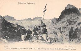 St-Martin-Vésubie - Pélerinage Au Pilon De La Madone De Fenestre - Animée - Saint-Martin-Vésubie