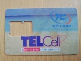 ST MAARTEN DUTCH  TELCELL   SIM  /GSM CARRIER/WITHOUT CHIP       ** 2762** - Antille (Olandesi)