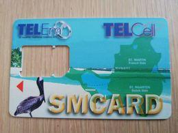 ST MAARTEN DUTCH  TELEM PELICAN    SIM  /GSM CARRIER/WITHOUT CHIP       ** 2763** - Antille (Olandesi)