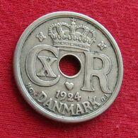 Denmark 25 Ore 1924 KM# 823.1 *V1 Dinamarca Danemark Denemarken Danimarca - Dänemark