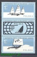 Poland 1978 Mi 2541-2542 MNH ( ZE4 PLDzf2541-2542 ) - Hiver