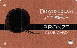 Downstream Casino Quapaw, OK - 1st Issue Bronze Slot Card  (BLANK) - Casino Cards
