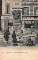 CPA MARSEILLE - La Fontaine Gelu - Monuments
