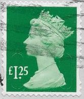 GB 2018 Machin £1.25 M18L Good/fine Used [40/32905/ND] - 1952-.... (Elizabeth II)