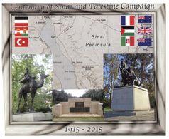 (E 14) Australia -  Maxicard - 2015 - Centenary Of Sinai & Palestine Campaign (Queen Victoria Postmark) - Cartes-Maximum (CM)