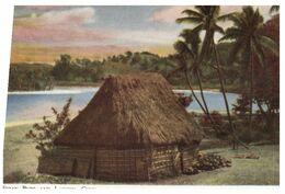 (E 14) Very Old - Fiji Bure And Lagoon - Fidschi