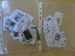 80 Privatpostmerken + 40 Marken Dt. Post Individual Gestempelt (4704) - Private & Local Mails