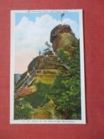 Chimney Rock &  Pulpit Rock  Blue Ridge Mts.   North Carolina   Ref 4241 - Etats-Unis