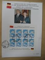 UDSSR Michel 5955 Kleinbogen Gedenkblatt (9594) - 1923-1991 USSR