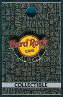 KAZAKHSTAN: HARD ROCK CAFE ALMATY (HRC) Classic Logo Pin - Pins