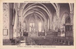 Annecy (74) - Intérieur De L'Eglise Saint Maurice - Annecy