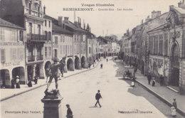 Remiremont (88) - Grande Rue - Les Arcades - Remiremont