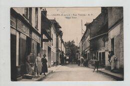Ligueil Rue Thomas Chaussures  Engin Agricole écrite à Louis Reverdy Brigadier - Autres Communes