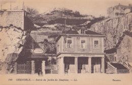 Grenoble (38) - Entrée Du Jardin Des Dauphins - Grenoble