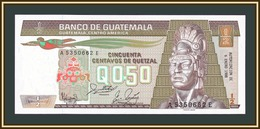 Guatemala 1/2 кетсaля 1988 P-65 (65a.6) UNC - Guatemala