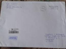 Lithuania Litauen Cover Sent From Kalvarija To Marijampole 2020 - Lithuania