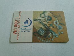 Mauritania - Nice Phonecard - Mauritanië