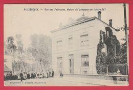 Ruisbroek - Rue Des Fabriques - Maison Du Directeur De L'Usine REY - 1906 ( Verso Zien ) - Sint-Pieters-Leeuw