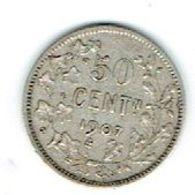 Belgique Leopold II 50 Cents 1907 Argent/silver. - 06. 50 Centimes