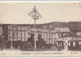 BEAUSOLEIL  Pension Française Et La Riviera Palace - France