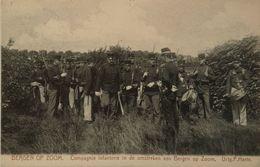 Bergen Op Zoom (N - Br.) Omstreken - Compagnie Infanterie - Militair 1905 Uitg. P. Harte - Bergen Op Zoom