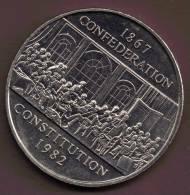 CANADA 1 DOLLAR 1982  CONSTITUTION KM# 134 - Canada