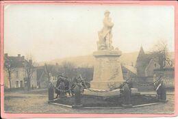 Remalard - Carte Photo Du Monument Aux Morts - Remalard