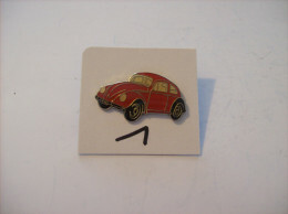 PIN'S - COCCINELLE - Vw Rouge   (1) Voir Photo - Volkswagen